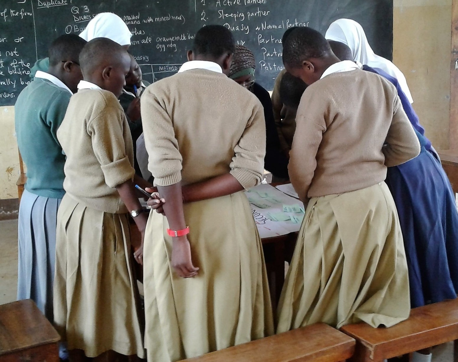 During the research, girls were asked to identify and rank the barriers they face to staying in school.